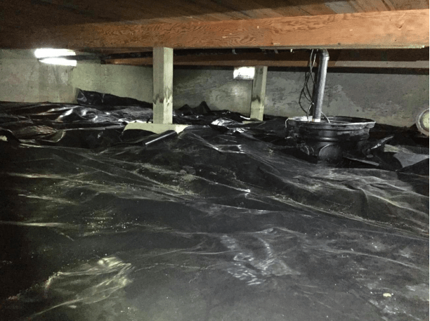 How to dry your crawlspace