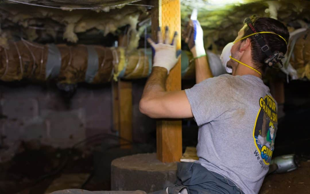 Preventing Moisture in Your Crawl Space